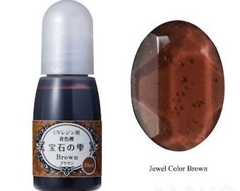 211862 Padico brown liquid coloring for UV Resin from Japan