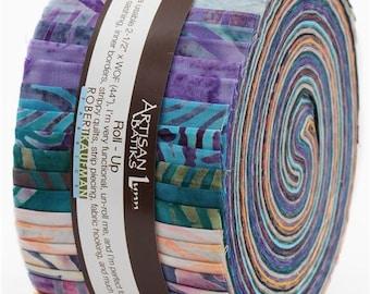 211576 Roll-up fabric roll Artisan Batiks Portofino Robert Kaufman