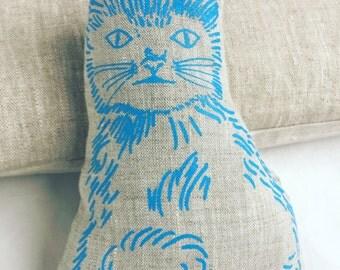 Little Blue kitty plushie