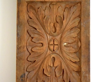 1900s Wood Plaster Architectural Foundry Factory Molds Vanderbuilt Mansion Industrial Salvage