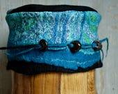 felt merino wool hat handmade in France RESERVED