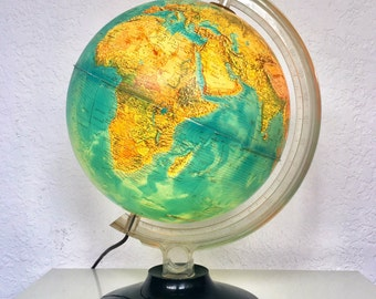 Vintage Light Up Globe
