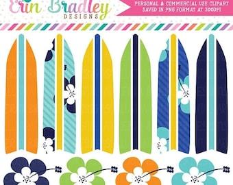 50% OFF SALE Boys Surfboard Clipart, Summer Clipart, Vacation Clip Art, Beach Clip Art, Personal & Commercial Use OK