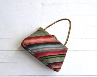 Kokoschka woven handbag | vintage 1930s handbag | woven 30s purse