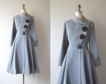 Screen Guild coat | vintage 1950s coat | fit and flare 50s princess coat