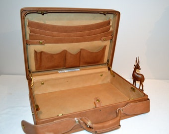 Vintage Hartmann Briefcase All Leather with Key
