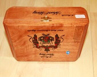 Wood Cigar Box - A. Fuente 27