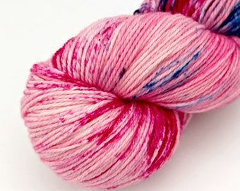 Tonks - Speckled - Hand Dyed Merino and Nylon Sock Yarn - Entree