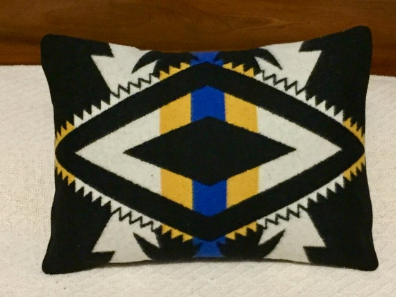 Wool Decorative Pillow / Accent Pillow 19 x 14
