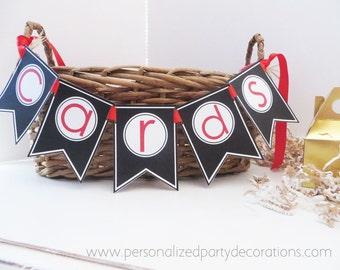 Cards Banner, Graduation Cards Box Decoration, Graduation Banner, Graduation Party Decorations, You Choose The Colors