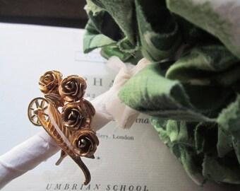Vintage Wedding Flowers * Fabric Bouquets * Vintage 1950's Fabric Pom * Pommery * Handmade Weddings * Unique Brides * OOAK Weddings