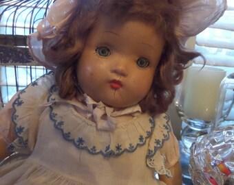 Antique Doll Cloth Body