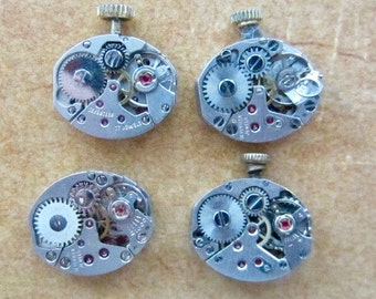 Steampunk watch parts - Vintage Antique Watch movements Steampunk - Scrapbooking T38