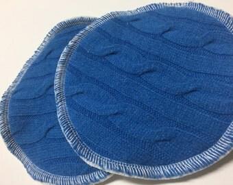 Wool & Organic Cotton Sherpa Nursing Shields - Luxury Protection