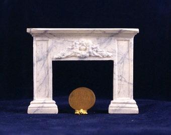 1:24 Scale Fireplace Mantel - Victorian Cherubs (HSC1-3)