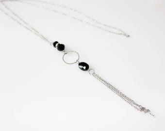 bijoux mode, collier long, bijoux fantaisie, cadeau bff,, collier, mode jewelry, collier ajustable