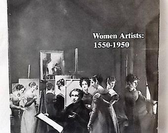 1976 Women in Art 1550-1950 Harris & Lochlin LA County Museum Exhibit Cat.