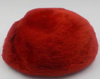 VINTAGE TAM Style Hat - Red - Hat - Made in Italy