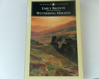 Wuthering Heights by Emily Bronte A Penguin Class paperback 1985