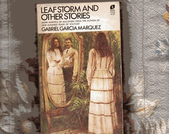 Leafstorm and Other Essays by Gabriel Garcia Marquez  1973 vintage paperback