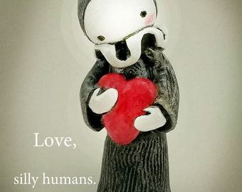 Love, Silly Human Poppet Poster  download