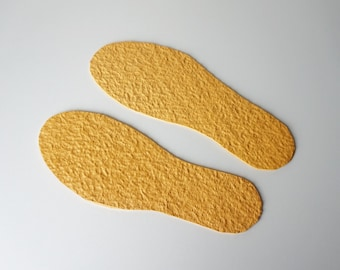 Rubber soles for felted slippers from my store