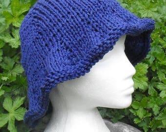 50% OFF SALE Instant Digital PDF File Knitting Pattern-Madmonkeyknits Superfast Big Floppy Hat pdf download knitting pattern