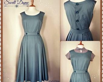 Swell Dame 1950's repro jumper  gabardine or wool dress