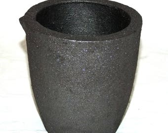 Number 4 6kg Clay Graphite Crucible Cup For Furnace -Torch Melting New Lower Price