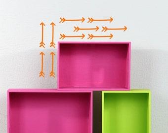 Arrow Wall Decals - Set of 10, Vinyl Decals, Wall Decor, Arrow Decals, Arrows, Home Decor