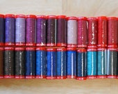 Genziana Wool Thread Sampler Pack for Wool Applique and Embroidery Number 3c