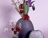 "Natural stone Vase  4-5 """