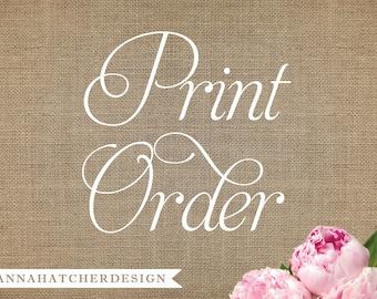 Design & Print Order