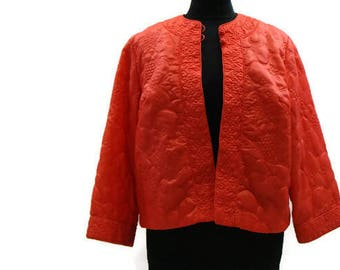 Vintage Quilted Jacket Vintage Womens Jackets Lightweight Quilted Jacket Vintage Jacket Womens
