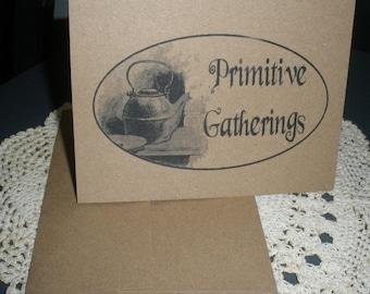 Primitive Gatherings Note Cards ~ N6