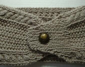 Headwrap, Ear Warmer, Knitted Headband, Womens Headband, Knit Headband, Knit Cable Headband, Gifts for her, Knit Items, Winter Wear