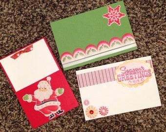 4x6 Scrapbook Kit Christmas Santa Scrapbooking Pages Premade