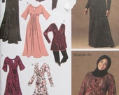 Simplicity 2774/Uncut Sewing Pattern/Misses/Women's Knit Dress in 3 Lengths or Tunic Top/Size 10-18/2008