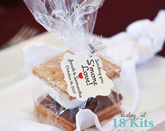 Smore's Kit, Smore Kit, Smore Love Tags, Smore Love Wedding Favor Tags Kit, Smores, Woodland favor, Smore Favor Tags, Sending you Smore Love