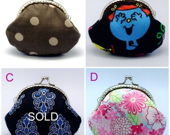 BIG SALE - Small clutch / Coin purse (GP23)