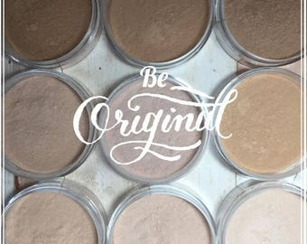 Fair Mineral Foundation, Natural Cosmetics, Make Up, Buildable Coverage, BALSA, Fairly Light, Fair to Light, Mineral Makeup, Loose Powder