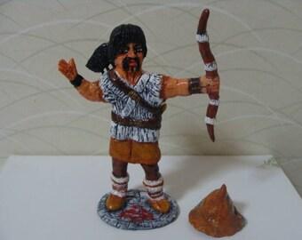 Dark-age Warrior Archer and Thief  Figurine *Made To Order*