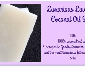 Luxurious Lavender Soap