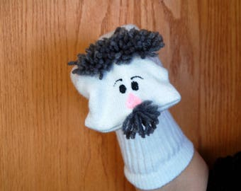 """Special order for MONKYMEAT """" Father  Man Sock Puppet Af Am & Latino"""