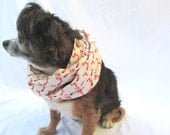 Dog Infinity Scarf Woodland Foxes Size small