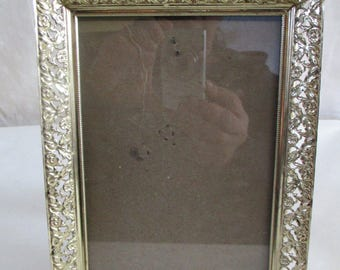 Picture Frames Ornate Gold Tone 5 x 7, glass