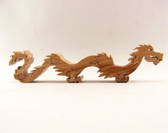 Dragon Hardwood Stand Up Puzzle