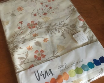 """Vintage Vera Oblong Tablecloth. 60"""" x 104"""". 1979. Never Used."""