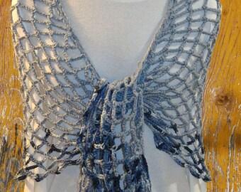 Crochet Shawl Pattern, Easy to Crochet Wrap Patterns, Chains of Love Crochet Shawl, Lace Crocheting Pattern