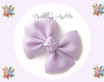 Orchid Pinwheel Bow, Girl's Lavender Hair Bow, Hair Bows For Girls, Spring Hair Bows, Bows For Toddlers, Easter Bows, Pinwheel Bows